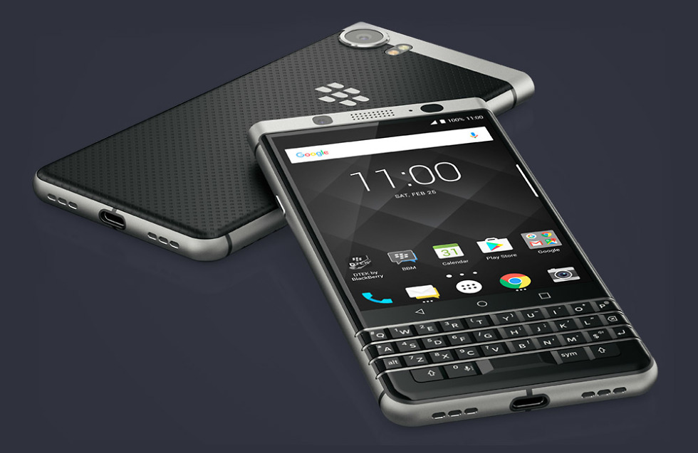 BlackBerry KEYone now available online from Sprint