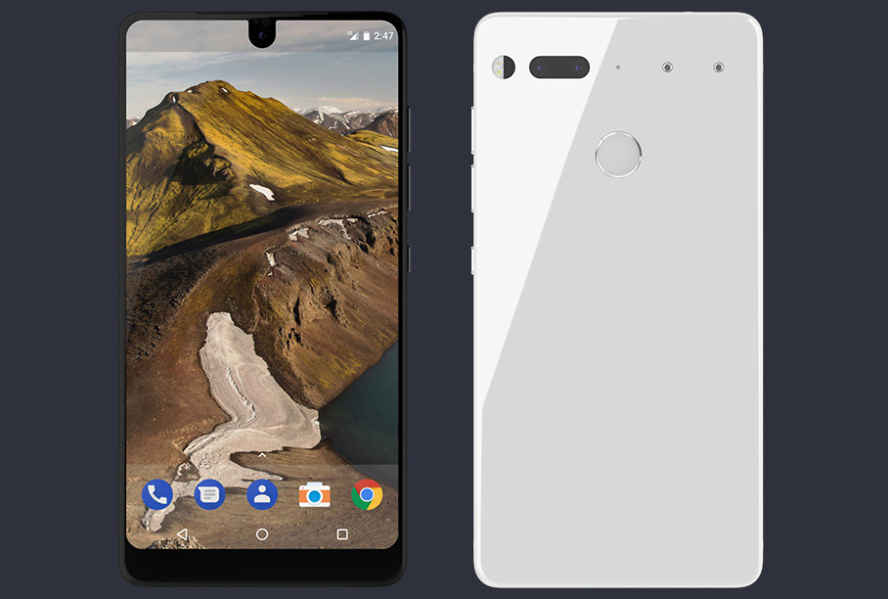 Essential's investors include Amazon, release date for phone being announced next week