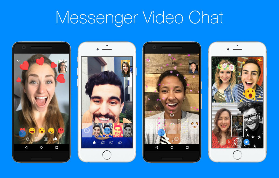 Of Course Facebook is Adding Effects to Video Chatting in Messenger