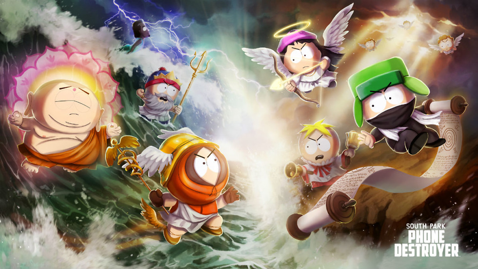 South Park: Phone Destroyer Launches Today, Accompanied by Launch Trailer