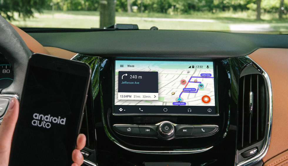 Google's Android Auto Goes Live With Waze, the Popular Navigation App