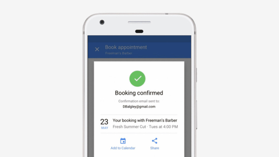 Google adds salon and spa bookings through Maps and Search