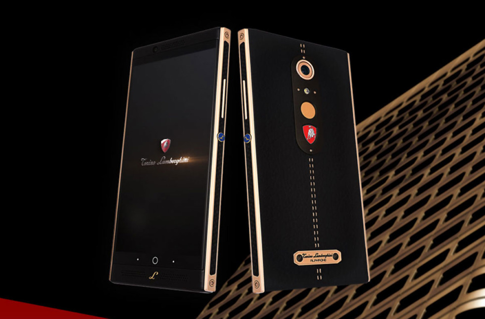 Tonino Lamborghini launches the Alpha One luxury smartphone