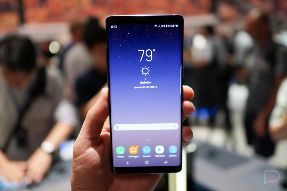 Samsung Galaxy Note9 spotted on Geekbench