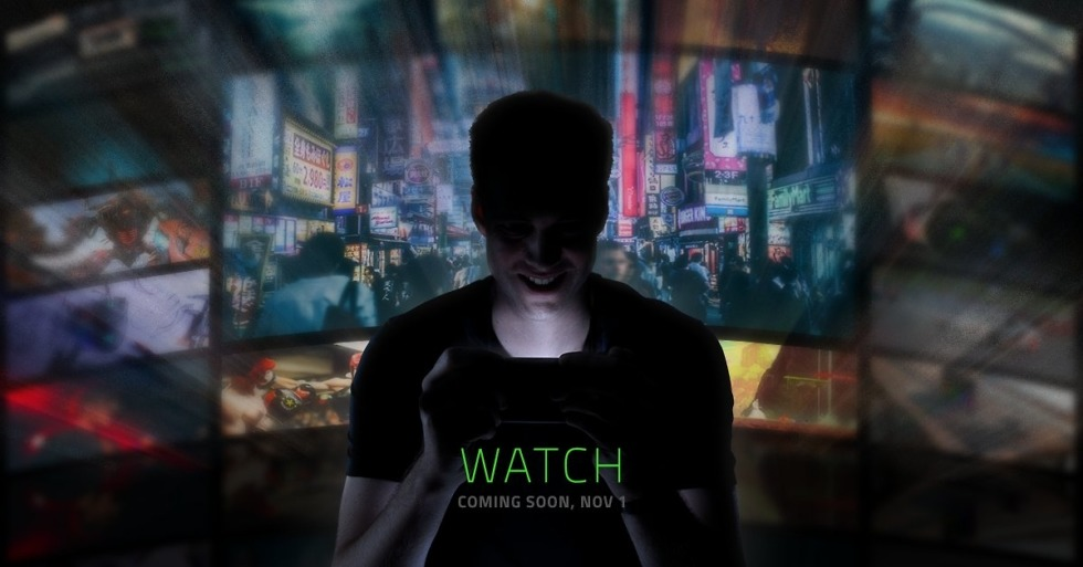 Razer set to reveal gaming smartphone on November 1