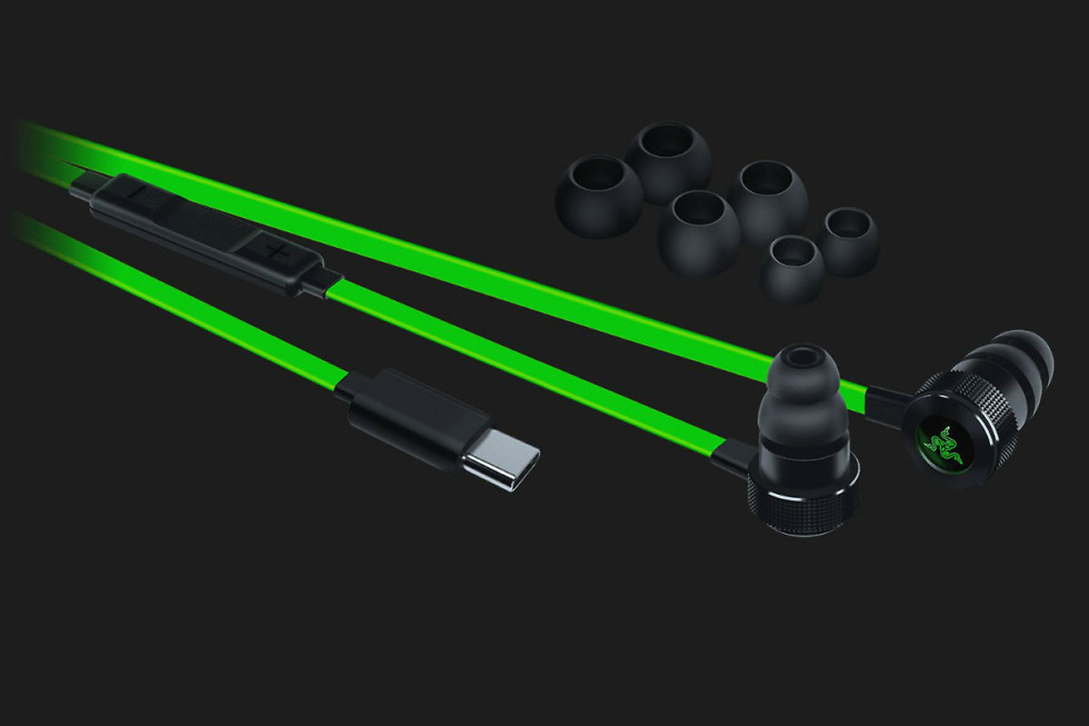 Razer launches Hammerhead USB-C earbuds alongside the Razer Phone