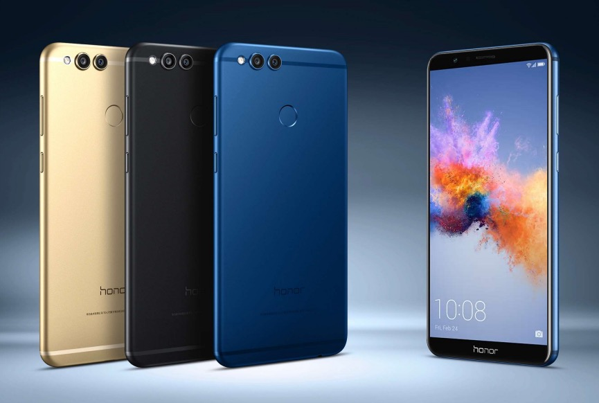 Huawei unveils the Honor 7X with a Kirin 659 SoC