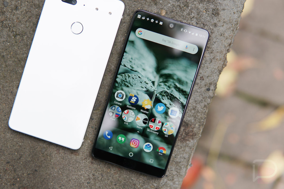 Essential Phone now receiving Android 8.0 Oreo beta 2
