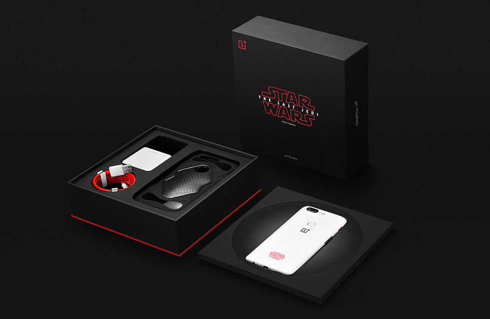 OnePlus 5T Star Wars Limited Edition phone launched at Rs 38999