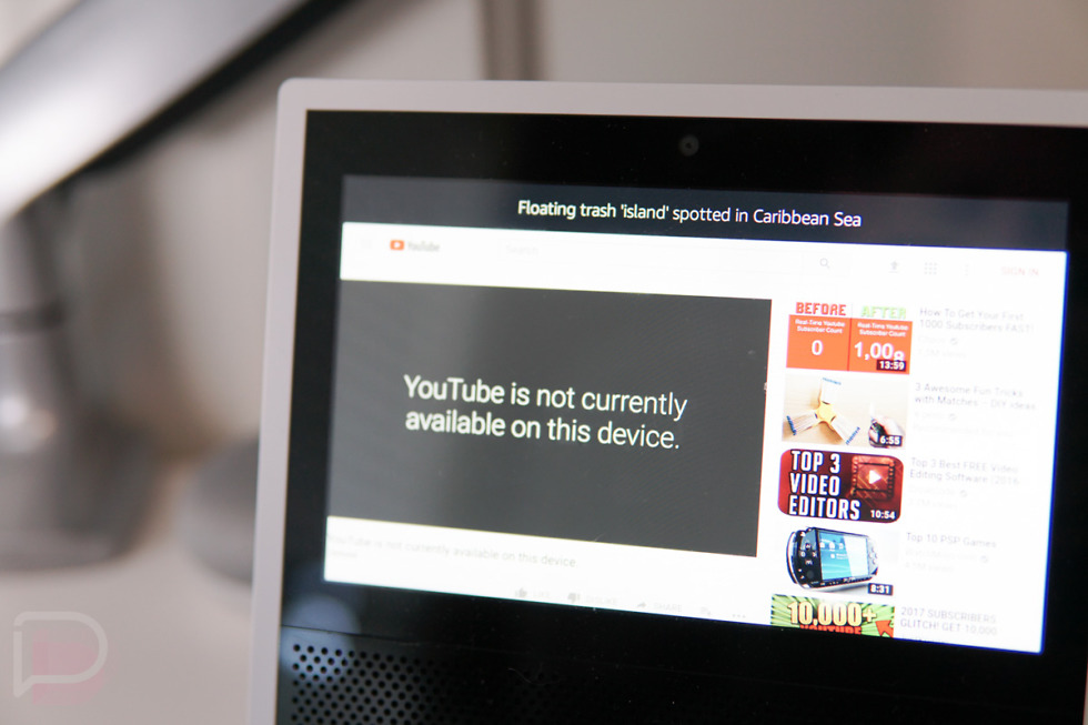 Google pulls YouTube from Amazon devices, escalating spat