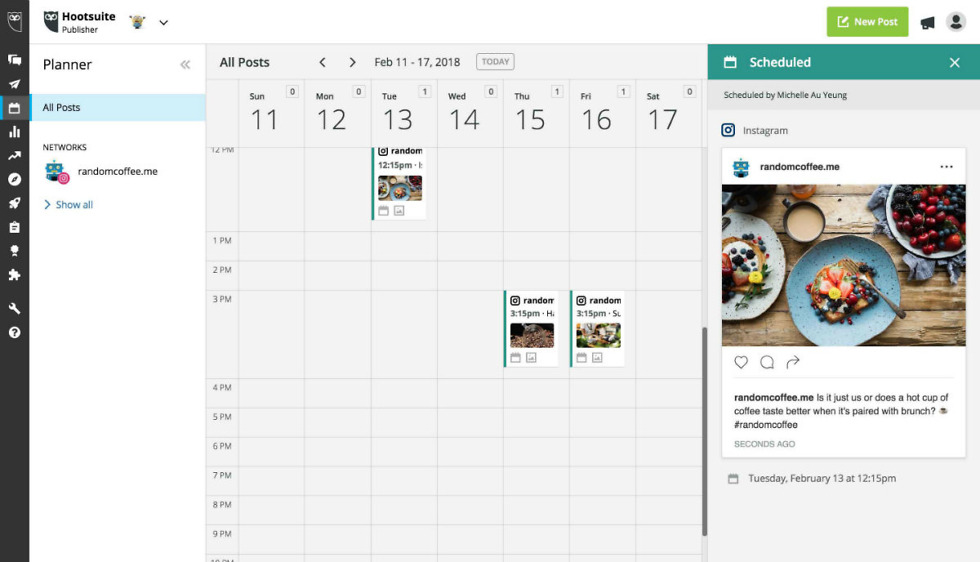 Instagram now allows businesses to schedule their posts