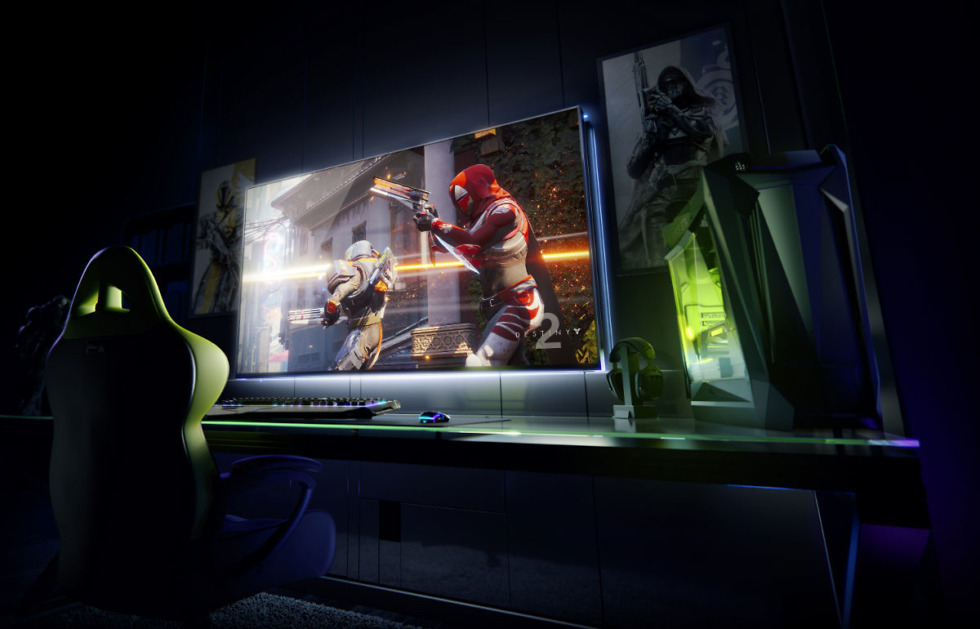 Nvidia is launching a line of massive 65-inch gaming displays
