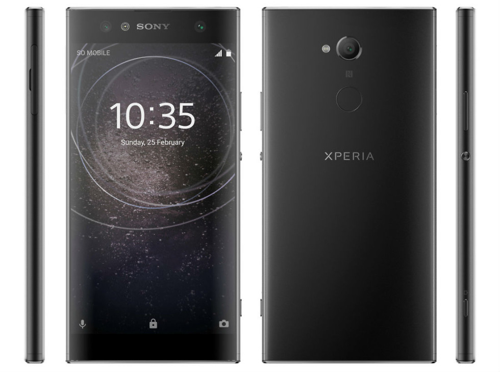 Sony Xperia XA2, XA2 Ultra, and L2 renders and specs leaked