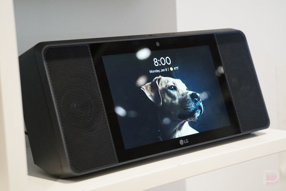 LG XBOOM AI ThinQ WK9 is a Google Assistant-powered smart display