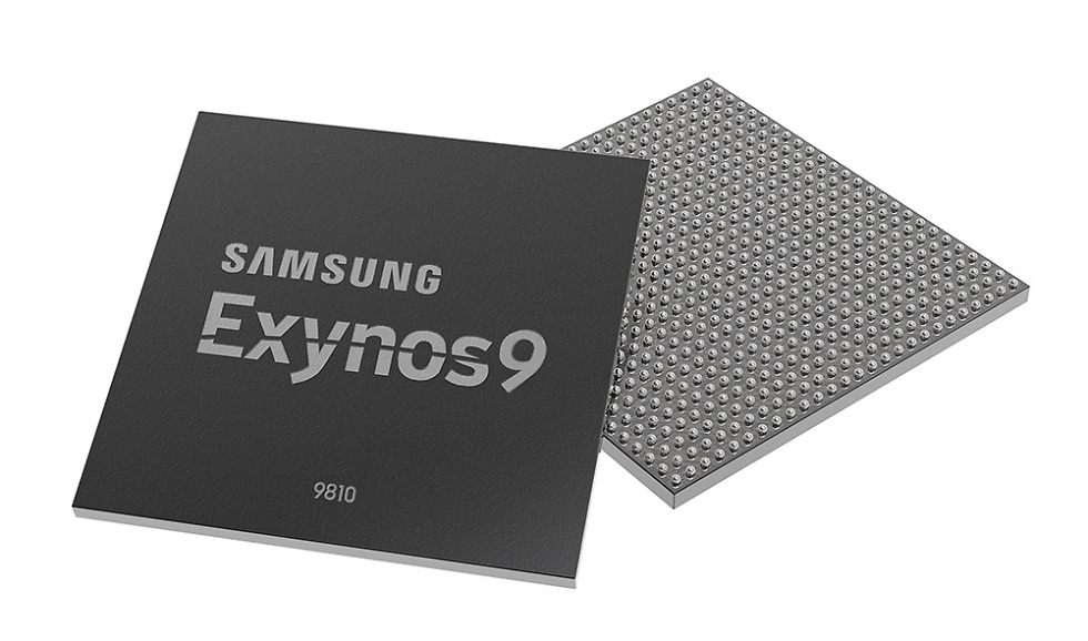 Samsung introduces the Exynos 9810, likely destined for the Galaxy S9