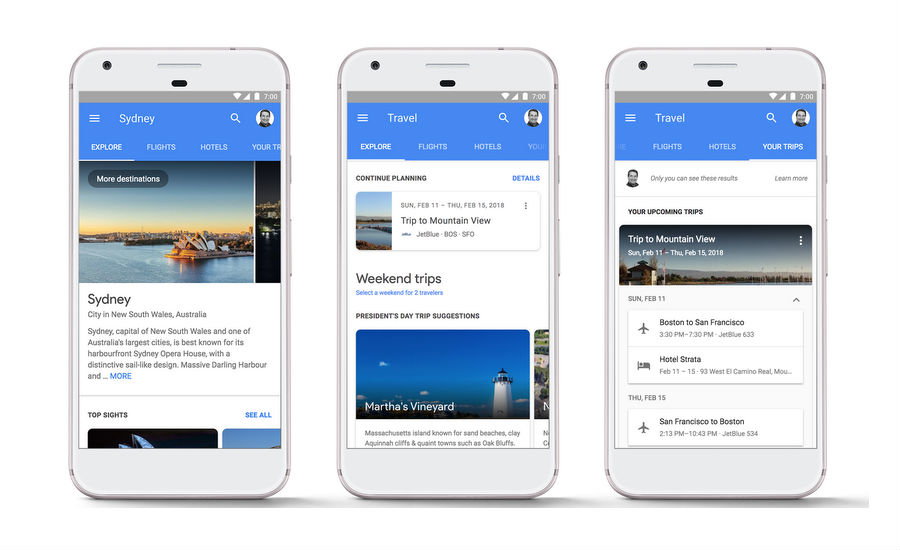 Google Would Allow Booking Hotels and Flights Via Search Results