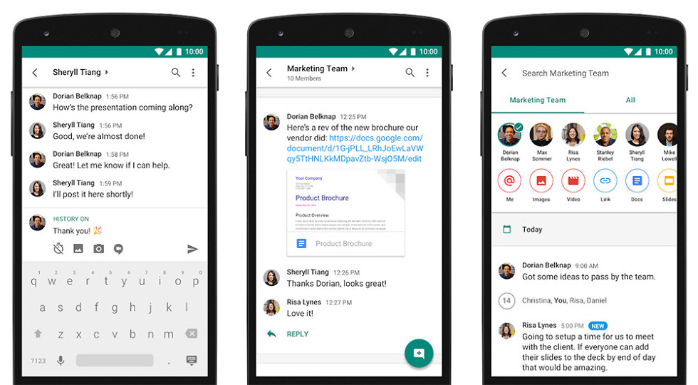 Google's Slack alternative Hangouts Chat exits beta