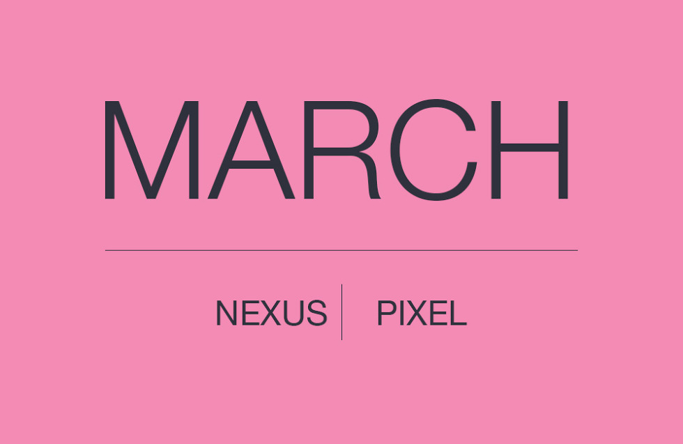 MARCH ANDROID SECURITY UPDATE NEXUS PIXEL