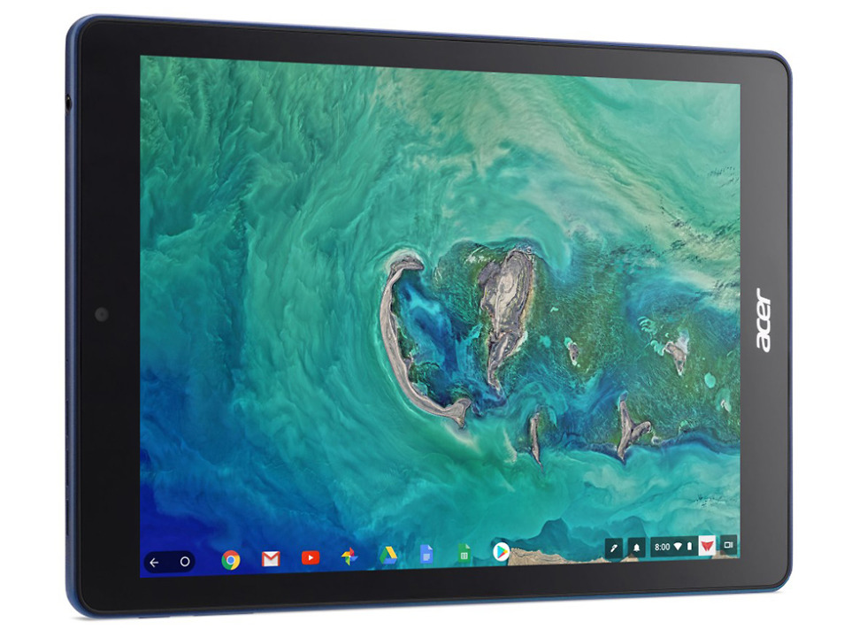 Google debuts first Chrome OS tablet