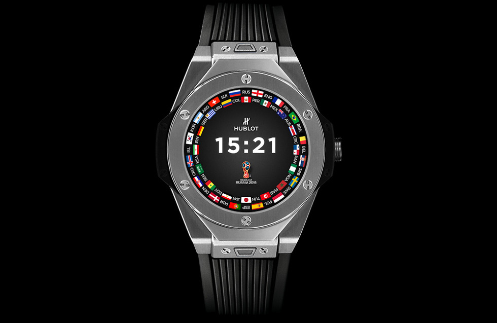 Hublot Unveils The 'Big Bang Referee' Wear OS Smartwatch