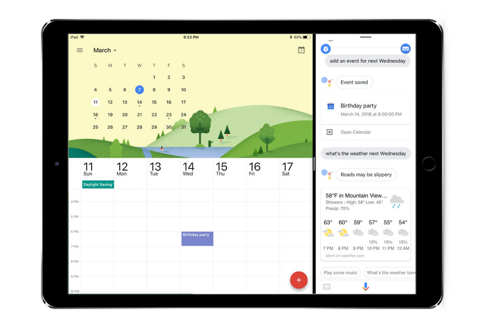 Google Assistant Lands on the iPad