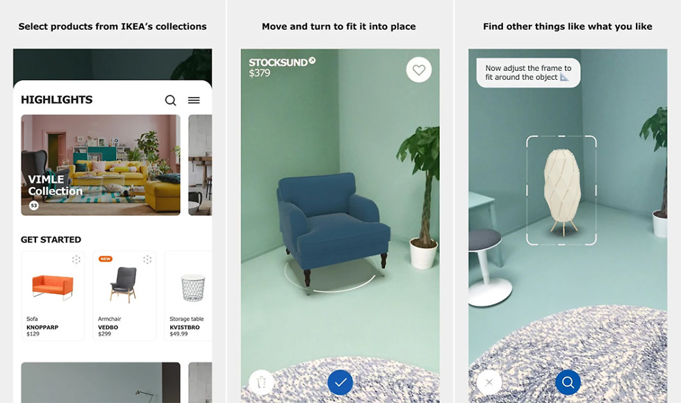 IKEA Place App Comes to Android, Powered by ARCore