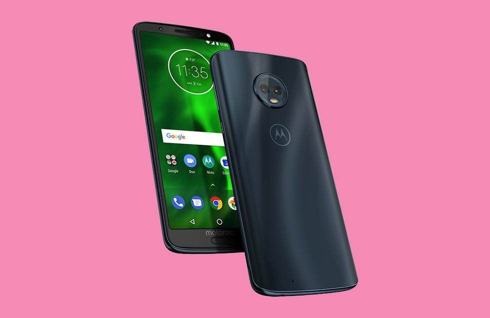 Moto G6 Now Available From Verizon for $240
