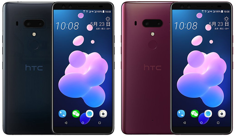 Latest HTC U12+ leak shows transparent design, full phone specs