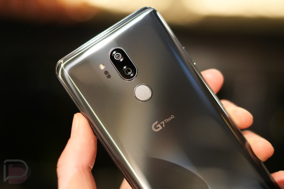 LG G7 ThinQ with iPhone X-like Notch and AR Camera Launched