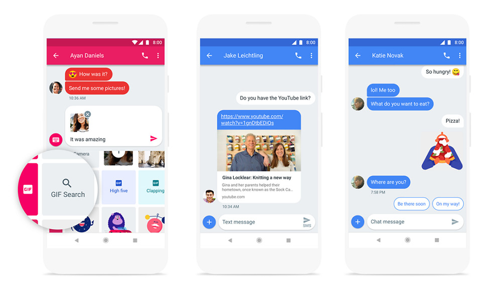 Android Messages now lets you send text messages from your computer