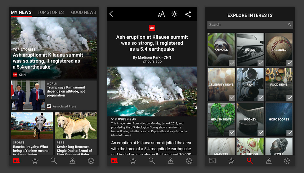 Microsoft fights Apple News with its latest iOS app