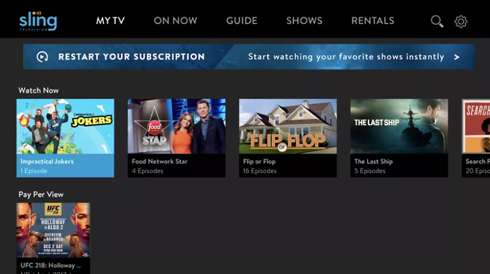 Sling TV Raises Orange Tier Price, Launches New Experience
