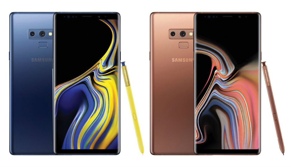 Midnight Black Galaxy Note 9 Render Leaked