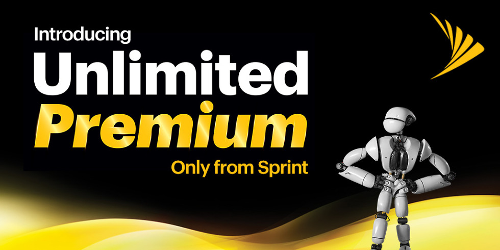 Sprint Unlimited Premium costs $90/month, includes 50GB mobile hotspot and Amazon Prime