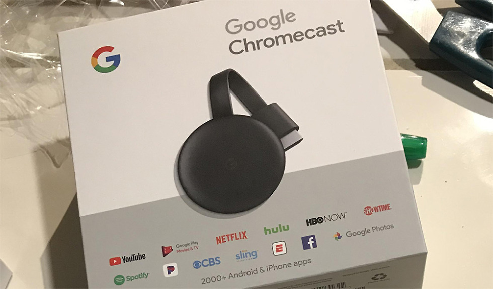 New third-gen Google Chromecast goes on sale before official launch