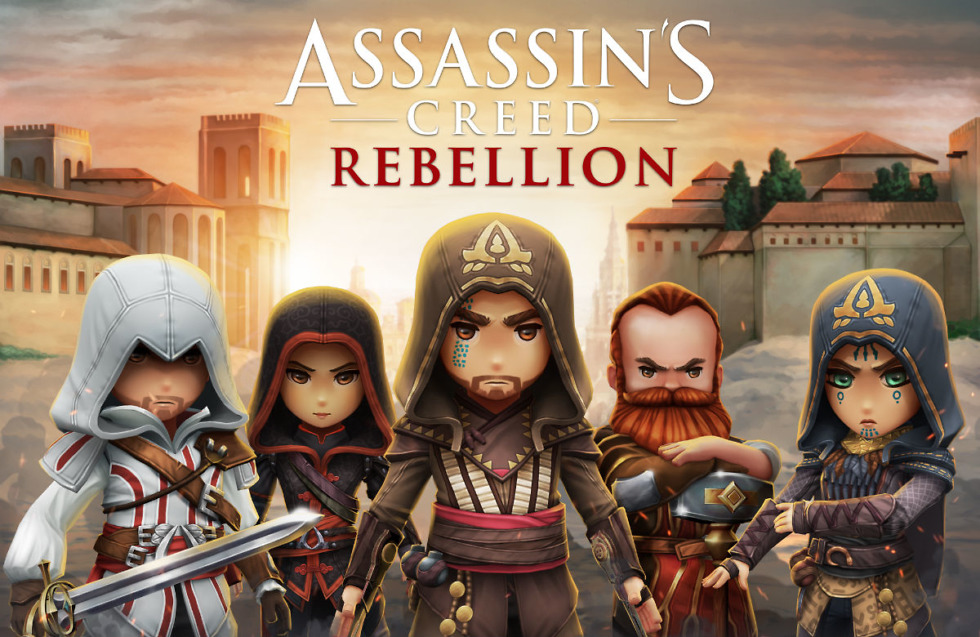 Strategy RPG Assassin's Creed Rebellion announced for smartphones