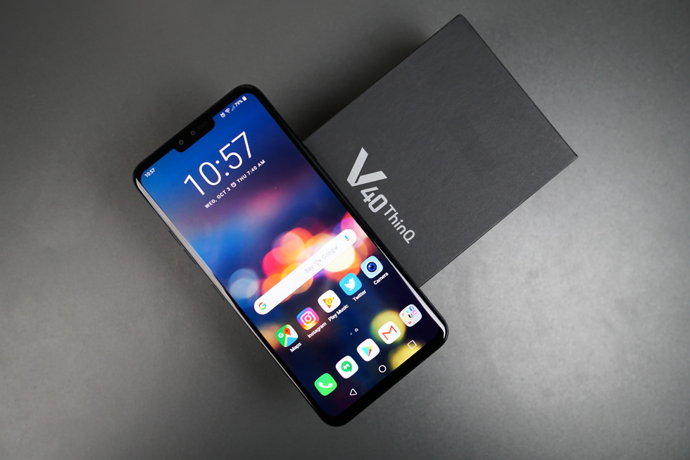 Months Later, LG V40 ThinQ Finally Gets Android Pie