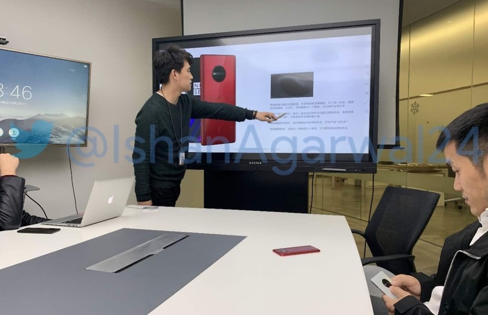 Probable image of Oneplus 7 or Oneplus 5G phone leaks online