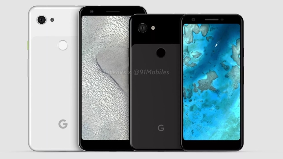 Google Pixel 3 Lite XL leaks for the very first time