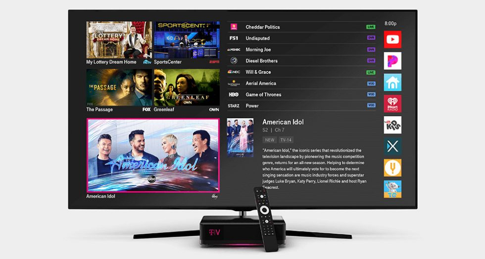 TVision Home is T-Mobile's new TV service, launching April 14th