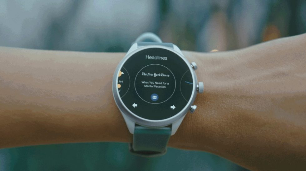 Google's new Wear OS update adds a suspiciously Samsung-like feature