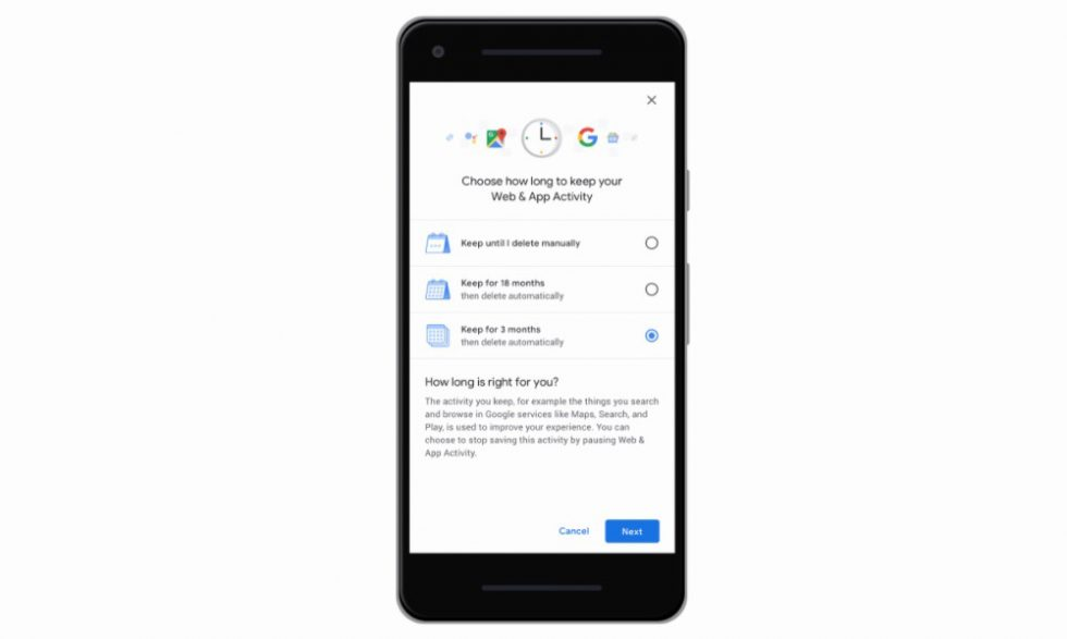 Google users can now auto-delete location data