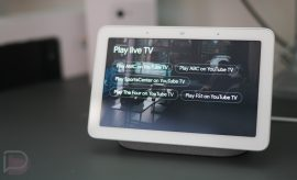 YouTube TV Nest Hub