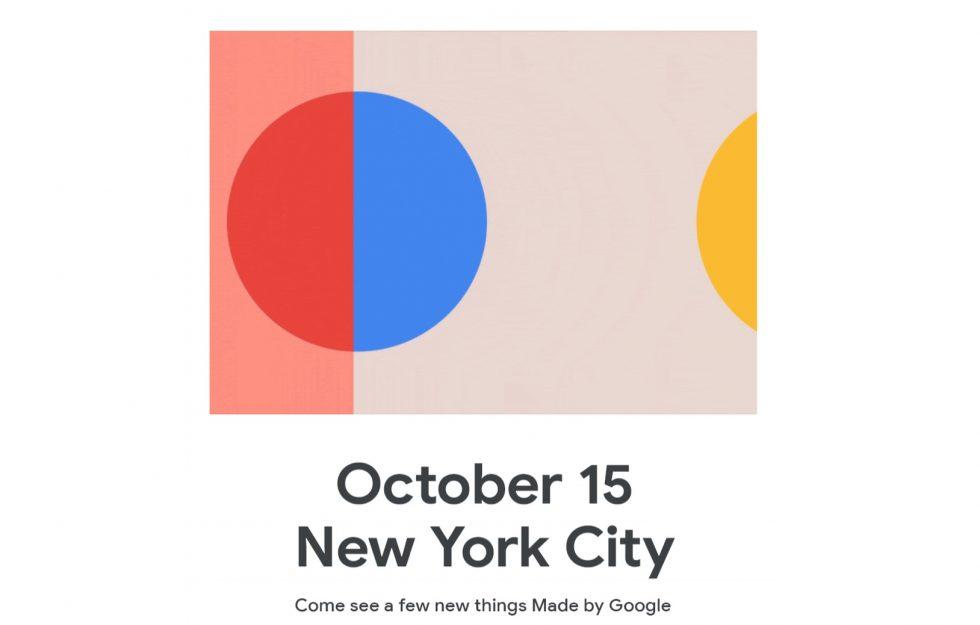 Google Pixel 4 XL launch date confirmed for October 15