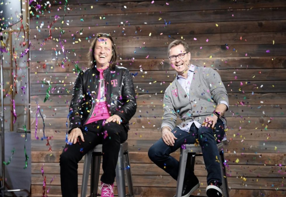 Mobile CEO John Legere announces he'll be stepping down