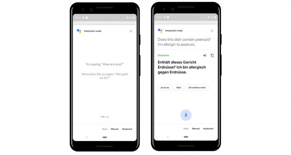 Google Assistant's real-time Interpreter Mode hits Android phones