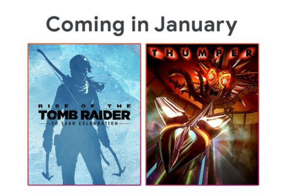 January's Free Stadia Pro Games Include Another Tomb Raider Title and Thumper