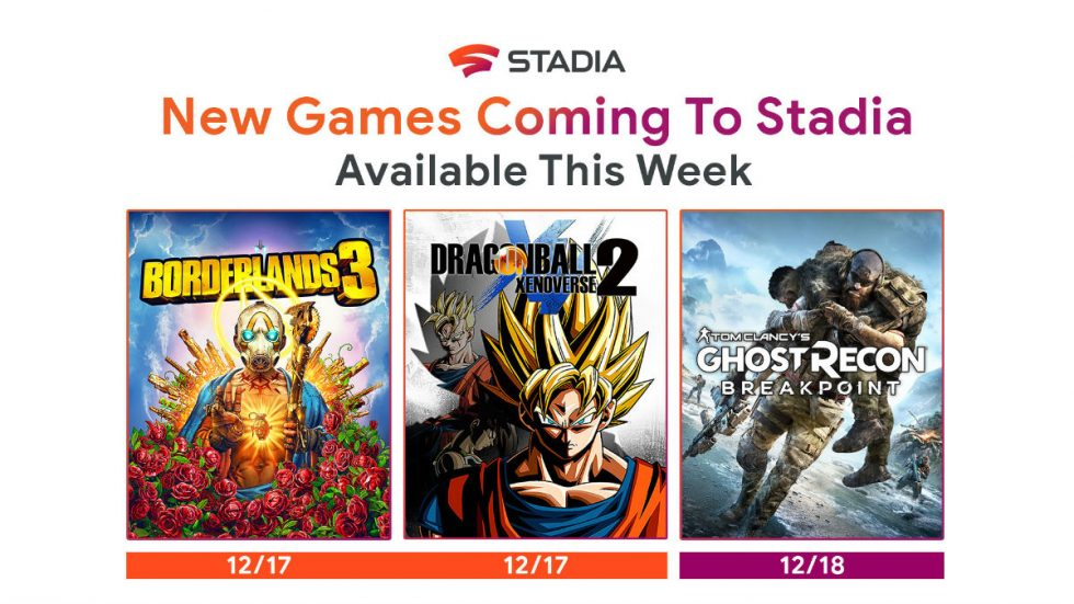 Google Releases the First Stadia Game With Stadia Connect