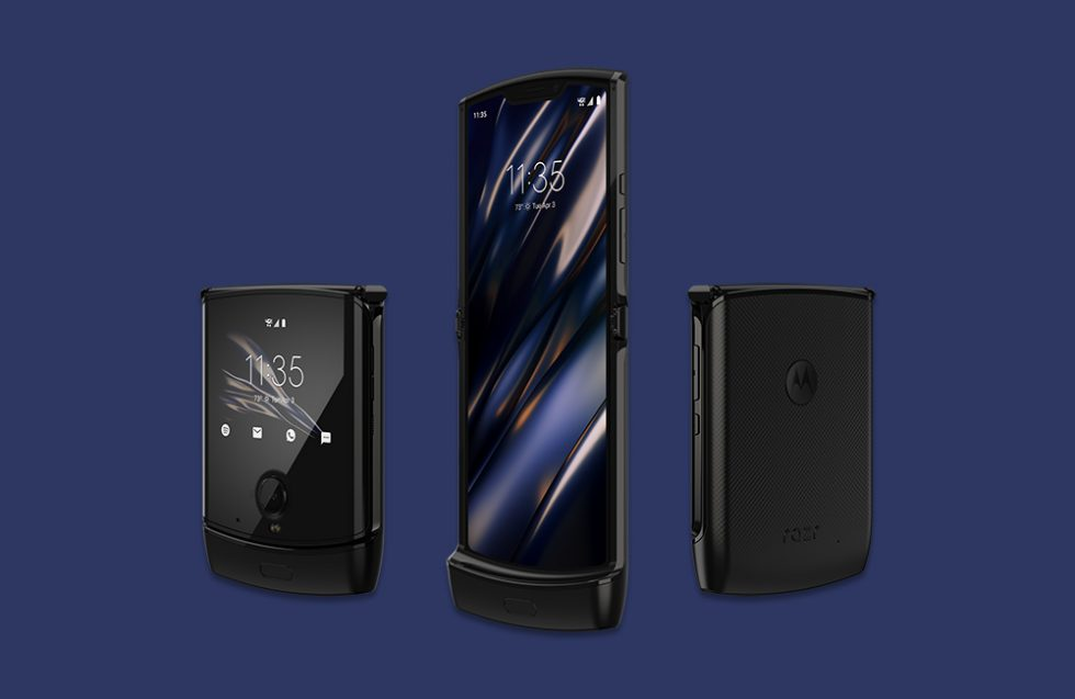 Motorola will begin taking foldable Razr pre-orders on January 26th