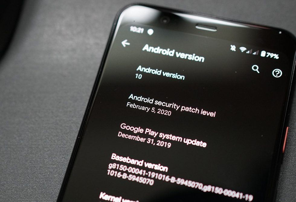 February 2020 Android security patch arrives